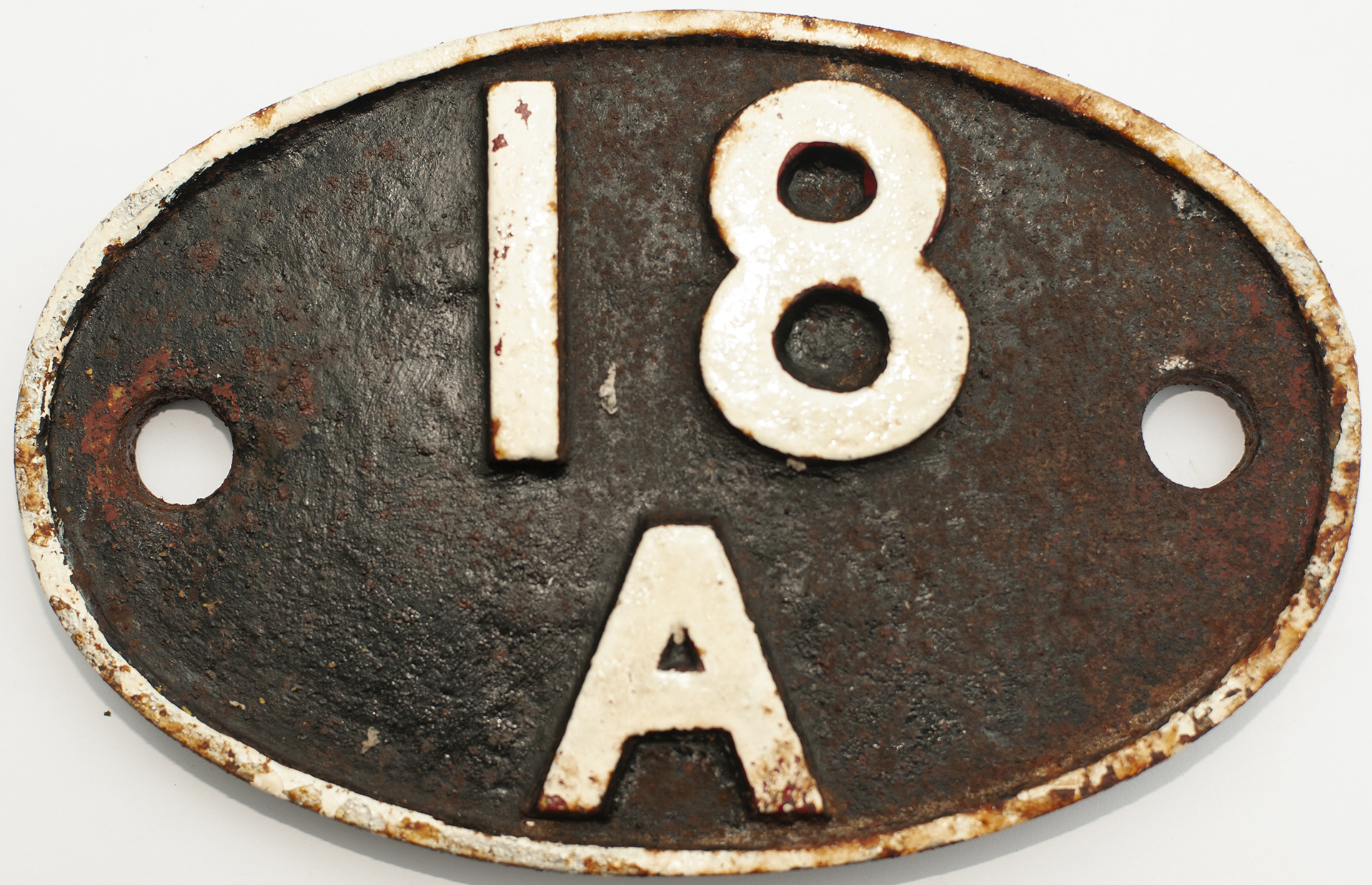 Shedplate 18a Toton 1950-1963. Face Lightly