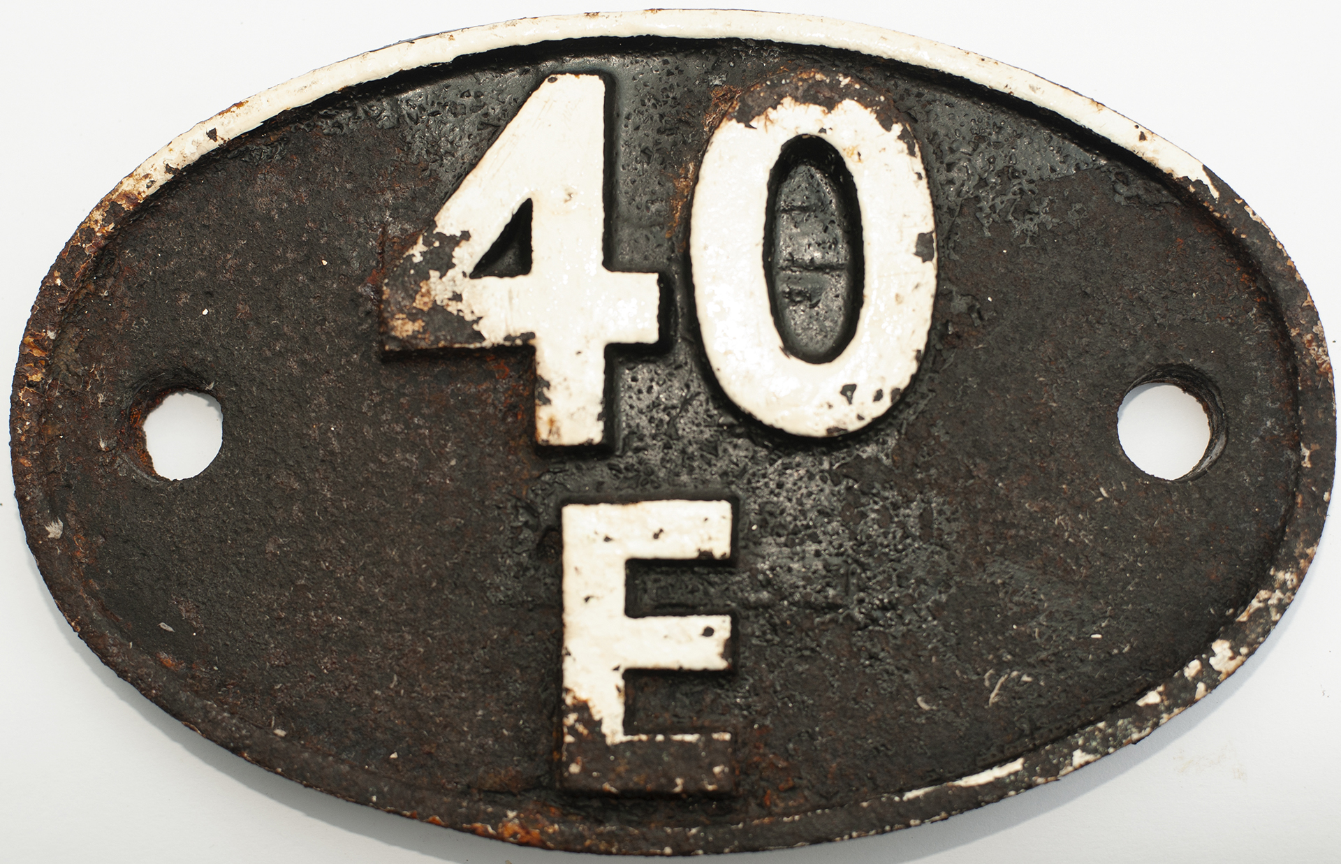 Shedplate 40e Langwith Junction 1950-1958 And