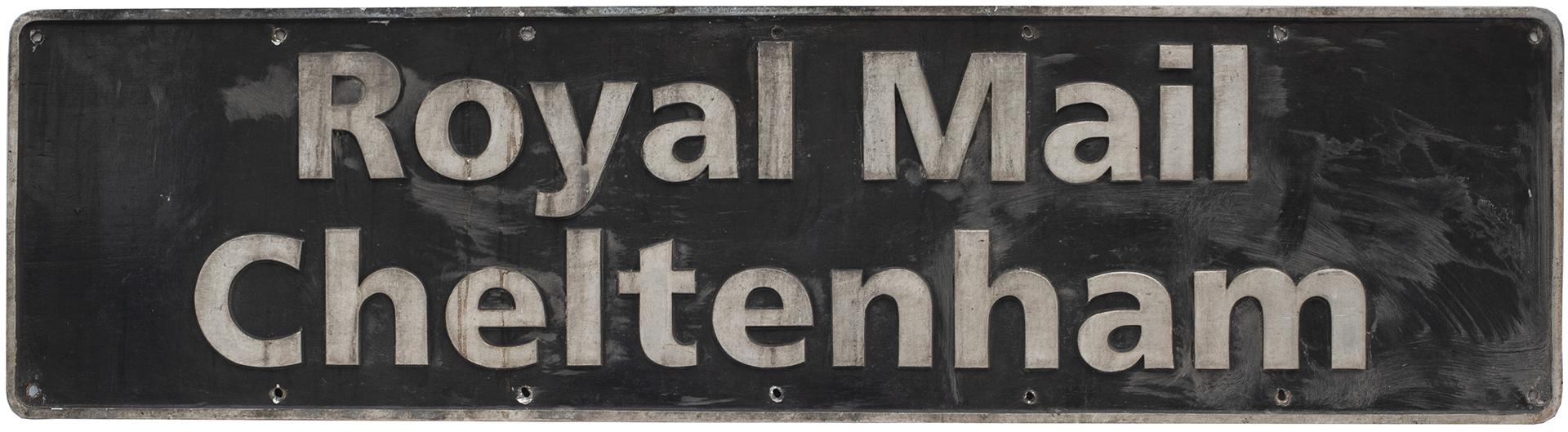 Nameplate ROYAL MAIL CHELTENHAM Ex British