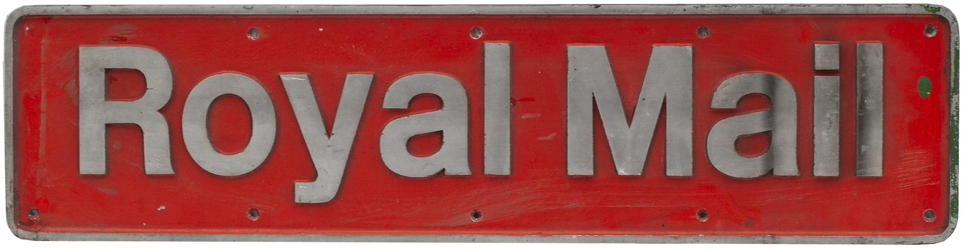 Nameplate ROYAL MAIL Ex British Railways Class 47