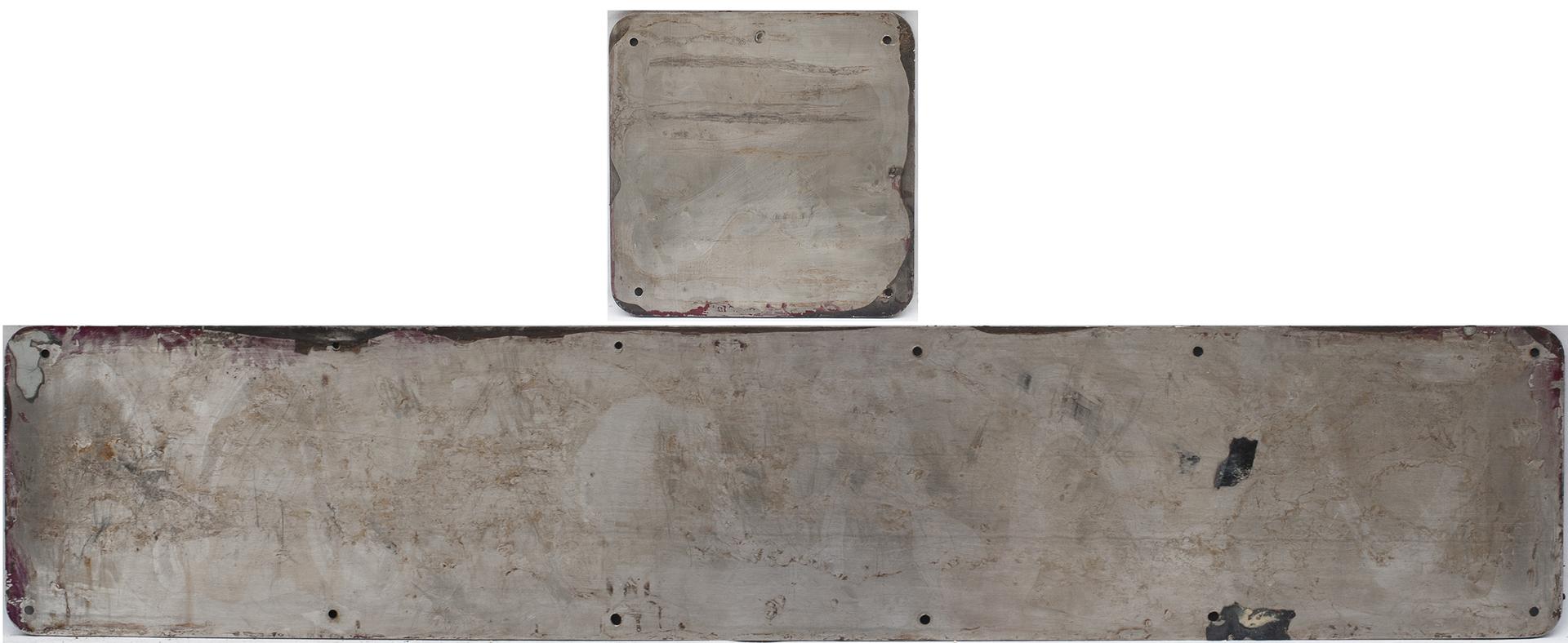 Nameplate AVESTAPOLARIT + Badge - Both Stainless