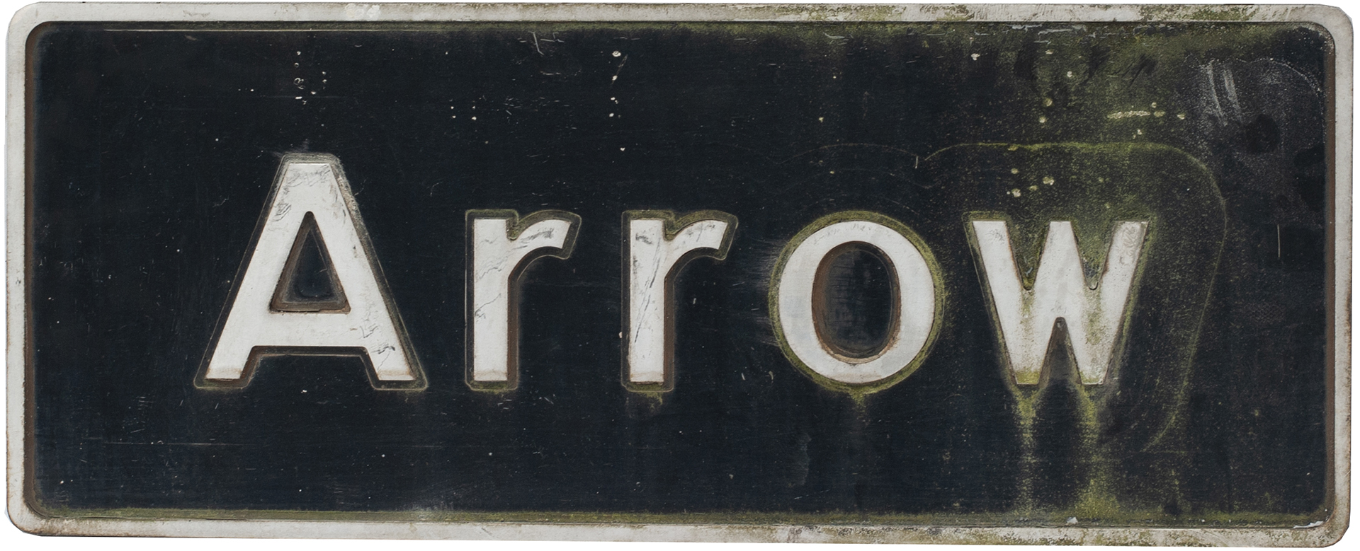 Nameplate ARROW Ex British Railways Class 67