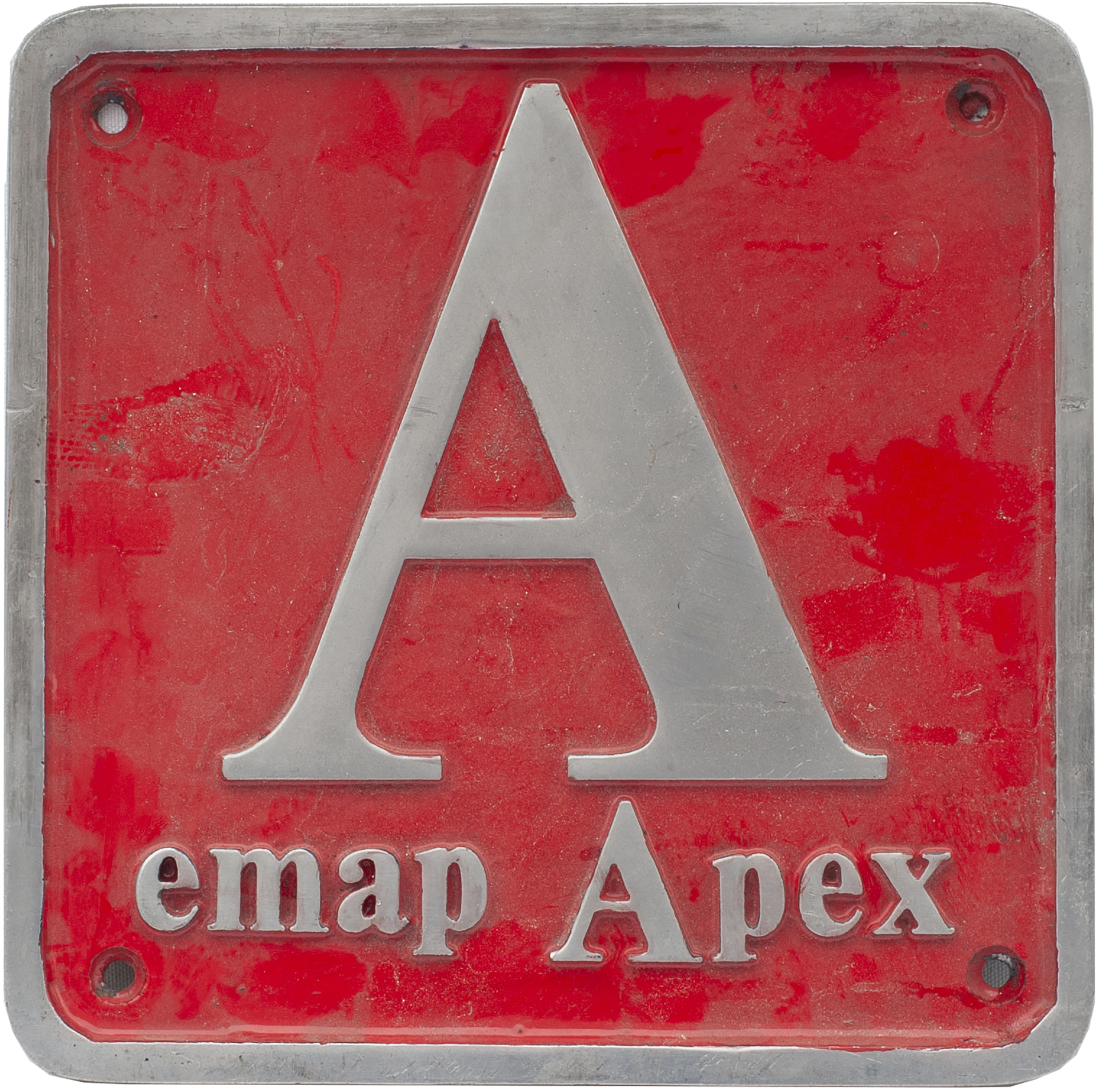 Nameplate Badge Only EMAP, Accompanied The