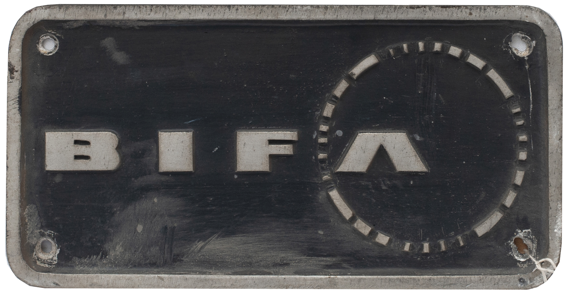 Nameplate Badge Only BIFA, Accompanied The