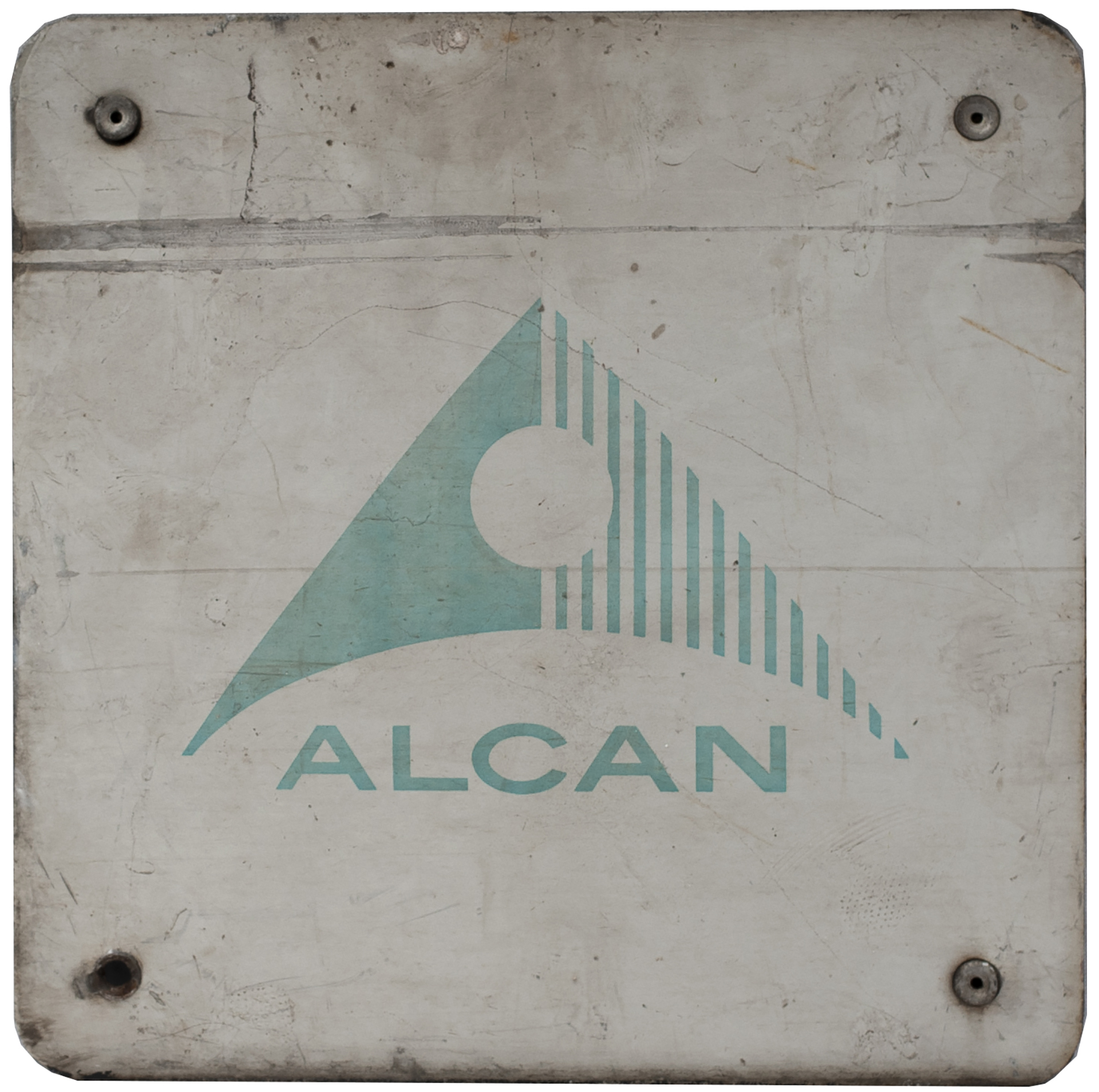 Nameplate Badge Only ALCAN, Accompanied The