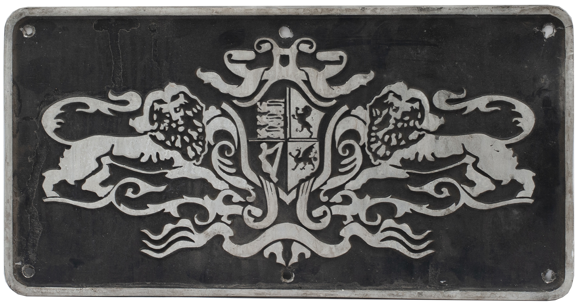 Nameplate Badge Only Pullman Coat Of Arms,