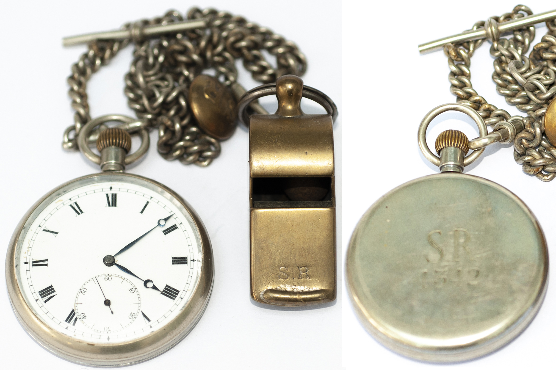 Southern Railway Nickel Cased Pocket Watch With