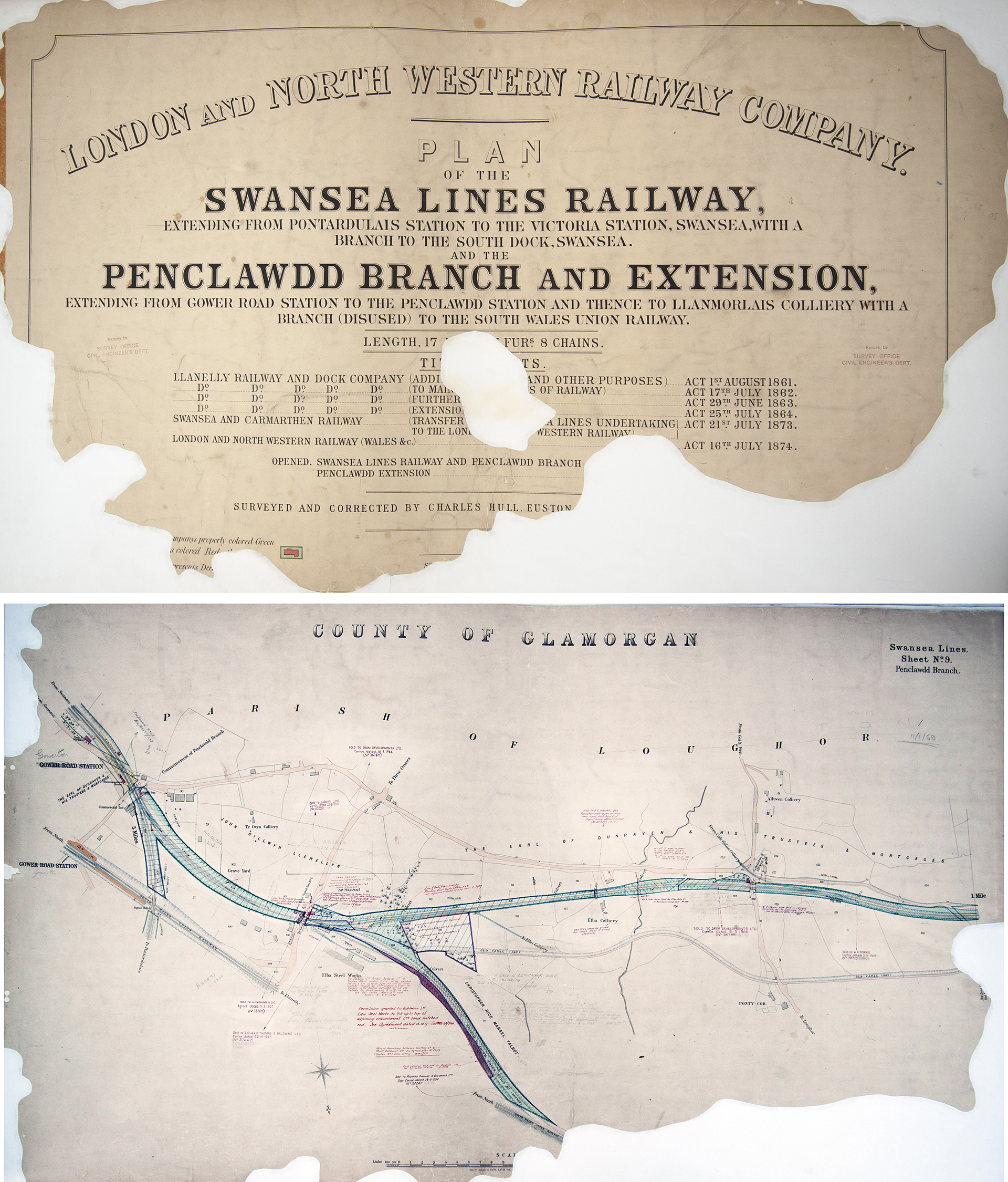 London & North Western Railway Official Hand