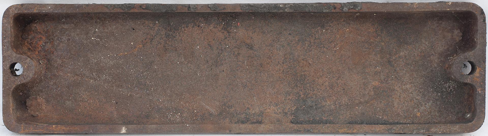 Smokebox Numberplate 42121. Ex LMS Fairburn 4p