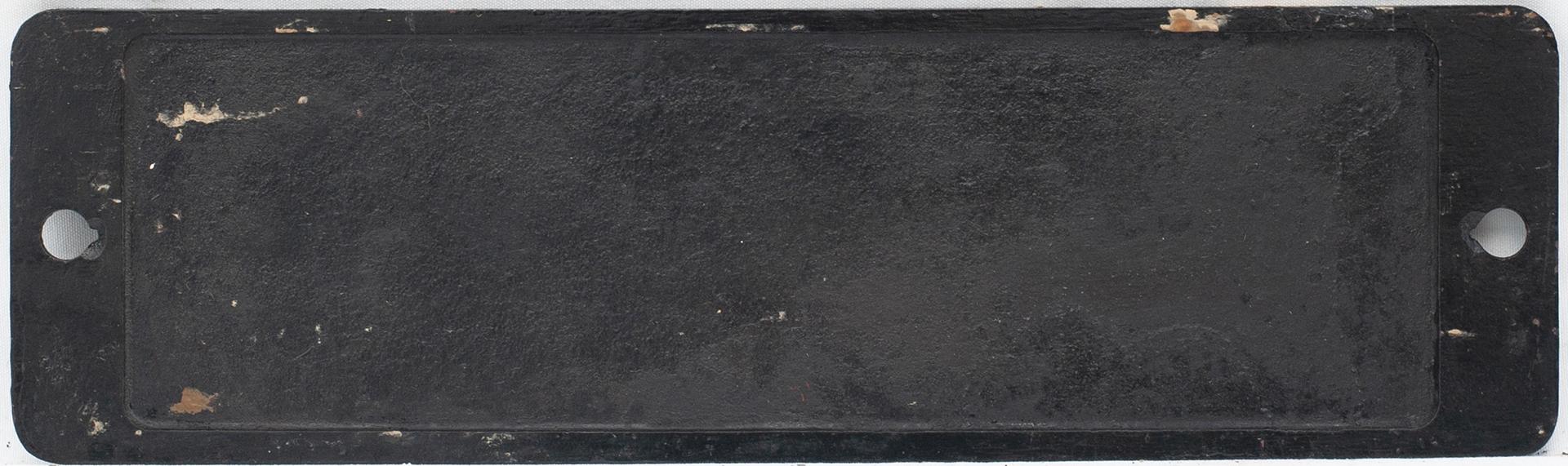 Smokebox Numberplate 7430. Ex GWR Collett 0-6-0pt