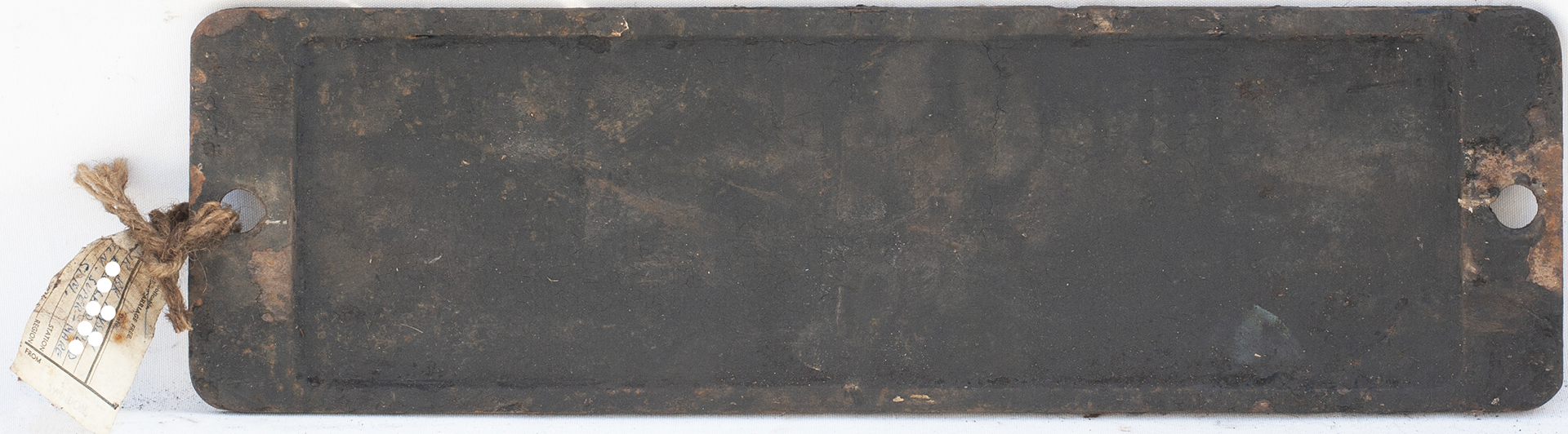 Smokebox Numberplate 6008 Ex Collett King Class