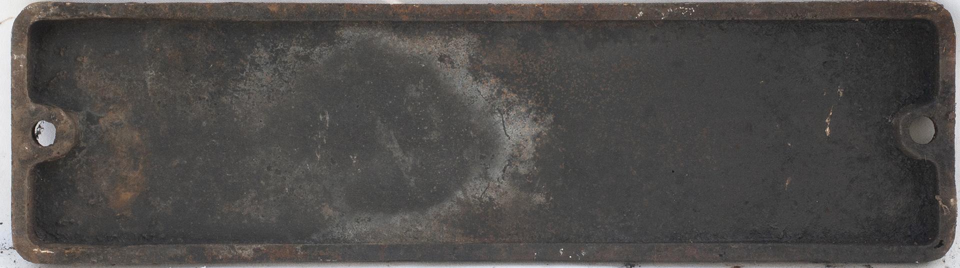 Smokebox Numberplate 73164 Ex Riddles Std Class 5
