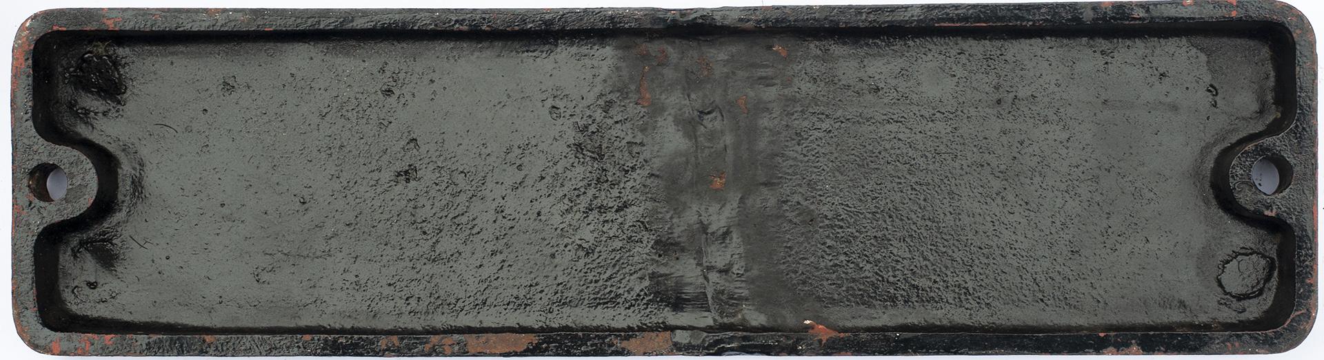 Smokebox Numberplate 45272 Ex LMS Stanier Black 5