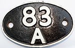 Shedplate 83a Newton Abbot 1950-1973 With Sub - select image 1
