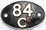 Shedplate 84c Banbury 1950-1963  And Truro - select image 1