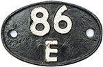 Shedplate 86e Severn Tunnel Junction 1950-1968. In - select image 1
