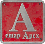 Nameplate Badge Only EMAP, Accompanied The - select image 1