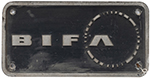 Nameplate Badge Only BIFA, Accompanied The - select image 1
